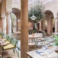 Custom-Made Interiors At Spain's New El Pintón Restaurant In Seville.