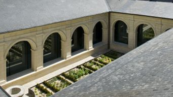 The Garden at the Fontevraud Hotel