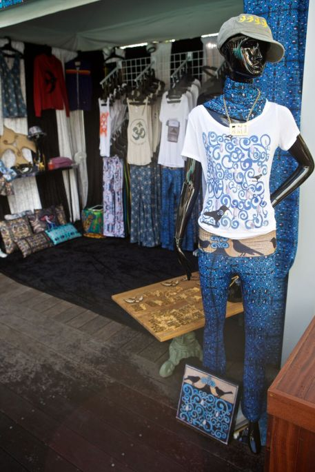 Laura Kimpton pop-up shop at the SLS hotel during Art Basel