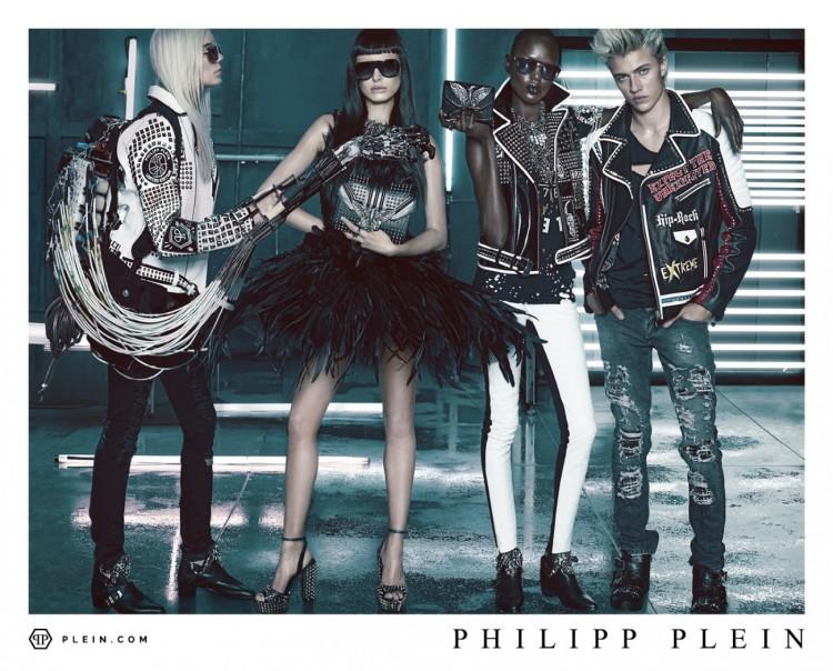 PHILIPP PLEIN SS16 Campaign1
