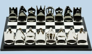 Chess board game by Prada