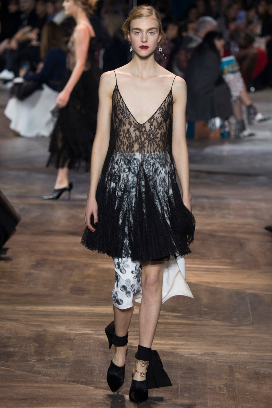 First Dior Couture show, Spring 2016, after Raf Simmons' departure