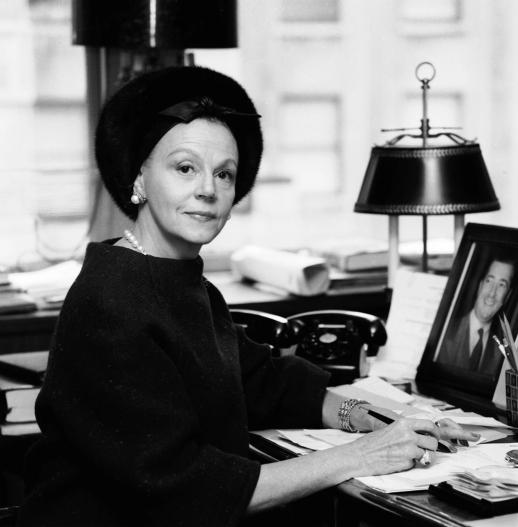 Critical player Eleanor Lambert, Fashion PR & Producer of The Battle of Versailles (1973)