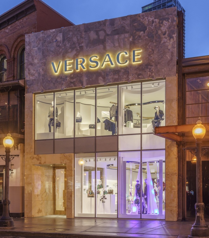 New Versace store in Chicago