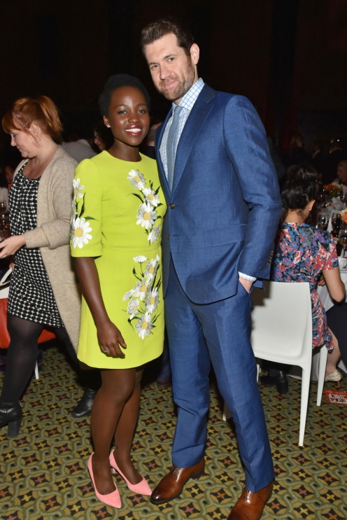 Lupita Nyong'o with host Billy Eichner Photo by Andrew H. Walker/Variety/REX/Shutterstock Variety's Power of Women NY Presented by Lifetime, Inside, New York, America - 08 Apr 2016