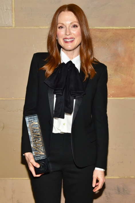 Julianne Moore Photo by Andrew H. Walker/Variety/REX/Shutterstock Variety's Power of Women NY Presented by Lifetime, Inside, New York, America - 08 Apr 2016
