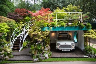 """Chelsea Flower Show """"Senri Sentei Garage Garden. (Jack Taylor/Getty)"""