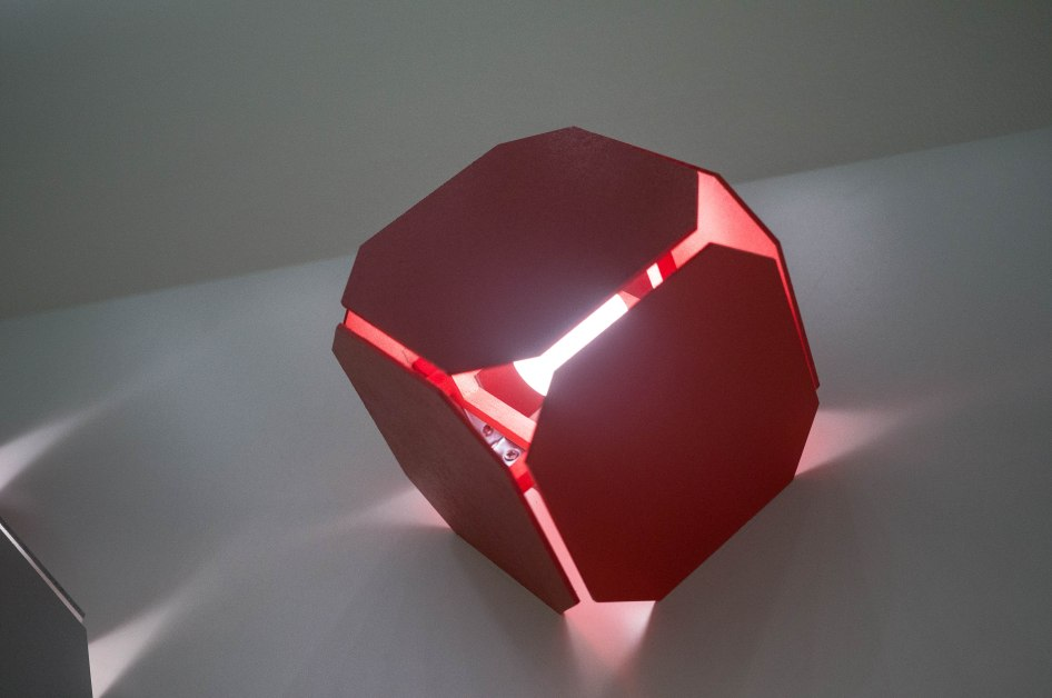 Light Ray box by Mattia Festa for Byblos at FuoriSalone 2016
