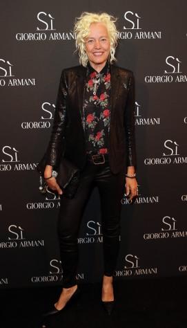 Ellen Von Unwerth attends Giorgio Armani Parfums Si Gathering Day in London, England. (Photo by David M. Benett/Dave Benett/Getty Images for GIORGIO ARMANI) *** Local Caption *** Ellen Von Unwerth