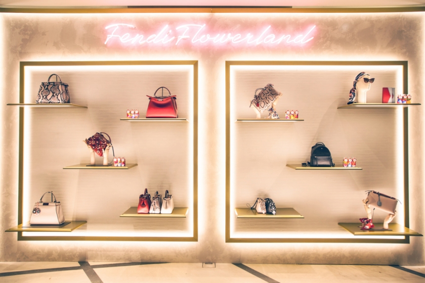 The Fendi pop-up at Selfridges