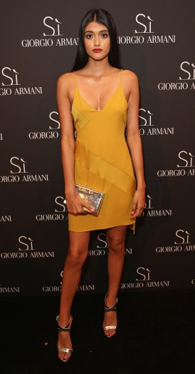 Neelam Gill attends Giorgio Armani Parfums Si Gathering Day in London, England. (Photo by David M. Benett/Dave Benett/Getty Images for GIORGIO ARMANI)