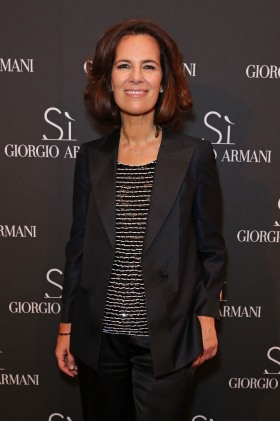 Roberta Armani at Giorgio Armani Parfums Si Gathering Day in London, England.