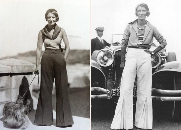 Αποτέλεσμα εικόνας για 1920 women pants
