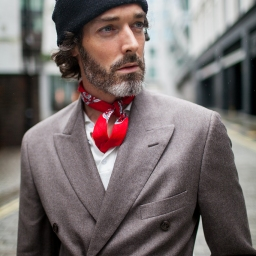 Out and about during London Collections: Men spring 2017.
