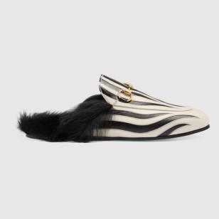 Princetown slipper in Zebra by Gucci € 795