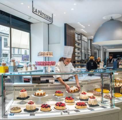 La Grande Épicerie de Paris: the Pâtisserie Counter. © Gabriel de la Chapelle