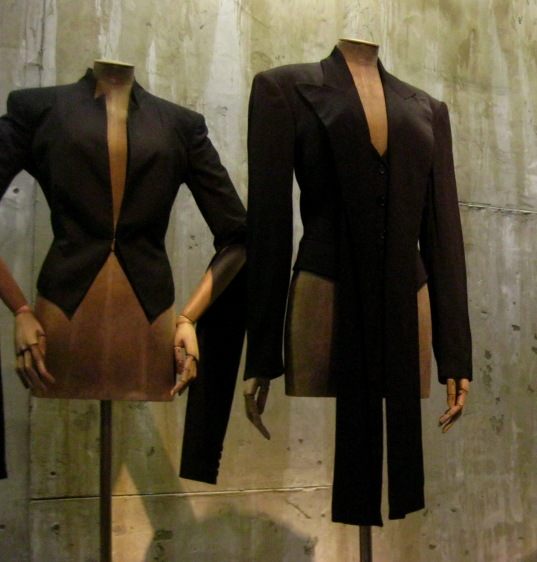 "Alexander McQueen tailored jackets from the ""Savage Beauty"" exhibition tour (2015)"