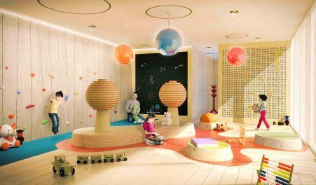 Children's playroom