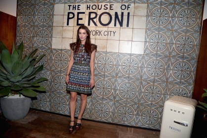 NEW YORK, NY: Bee Schaffer attends The House of Peroni Opening Night hosted by Francesco Carrozzini in New York City. (Photo by Sylvain Gaboury/Patrick McMullan via Getty Images)