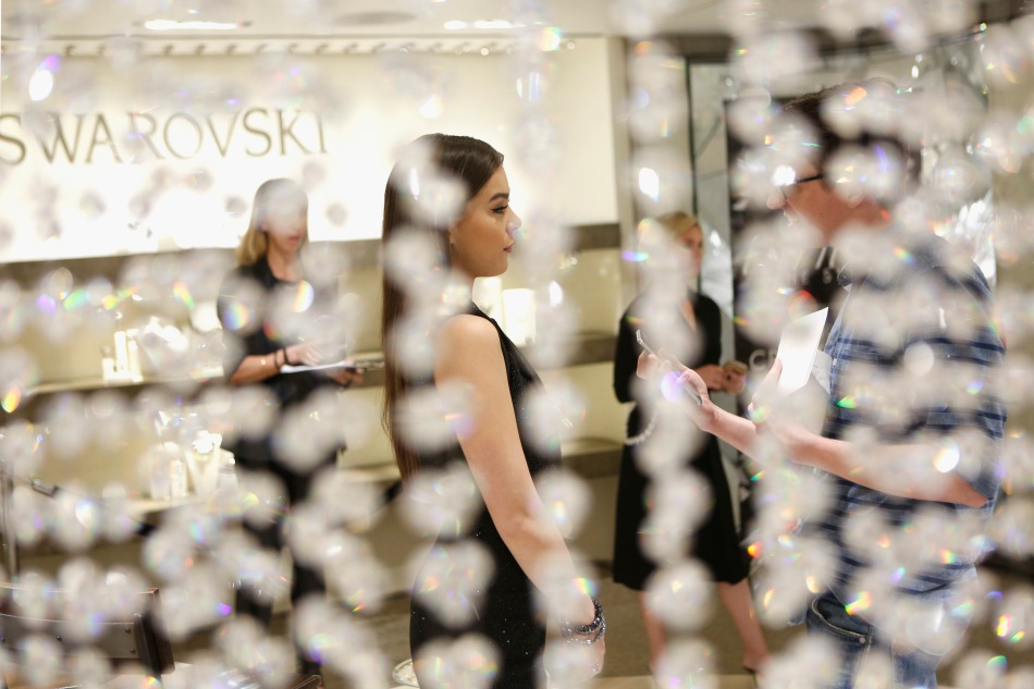 Turn Up The Style - Swarovski Meet & Greet with Hailee Steinfeld