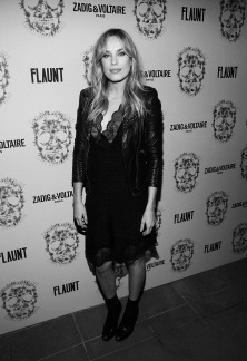 LOS ANGELES, CA - OCTOBER 27: Jessica McNamee attend the Zadig & Voltaire and Flaunt Celebration of The FW16 Collection and The Oh La La Land Issue: Ouest Coast at Zadig & Voltaire on October 27, 2016 in Los Angeles, California. (Photo by Jesse Grant/Getty Images for Flaunt Magazine)