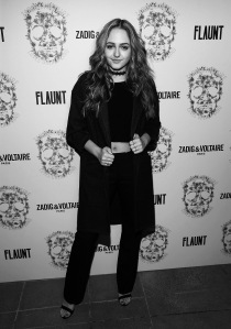 LOS ANGELES, CA - OCTOBER 27: Sophie Reynolds attend the Zadig & Voltaire and Flaunt Celebration of The FW16 Collection and The Oh La La Land Issue: Ouest Coast at Zadig & Voltaire on October 27, 2016 in Los Angeles, California. (Photo by Jesse Grant/Getty Images for Flaunt Magazine)