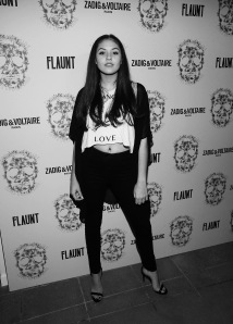LOS ANGELES, CA - OCTOBER 27: Ronni Hawke attend the Zadig & Voltaire and Flaunt Celebration of The FW16 Collection and The Oh La La Land Issue: Ouest Coast at Zadig & Voltaire on October 27, 2016 in Los Angeles, California. (Photo by Jesse Grant/Getty Images for Flaunt Magazine)