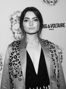LOS ANGELES, CA - OCTOBER 27: Emily Robinson attends the Zadig & Voltaire and Flaunt Celebration of The FW16 Collection and The Oh La La Land Issue: OuesZadig & Voltaire And Flaunt Celebrate The FW16 Collection And The Oh La La Land Issue: Ouest Coast