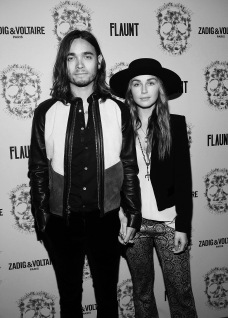 Samuel Richard & Zella Day. Zadig & Voltaire And Flaunt Celebrate The FW16 Collection And The Oh La La Land Issue: Ouest Coast.