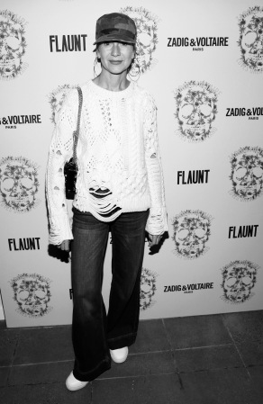 Natalie Joos. Zadig & Voltaire And Flaunt Celebrate The FW16 Collection And The Oh La La Land Issue: Ouest Coast