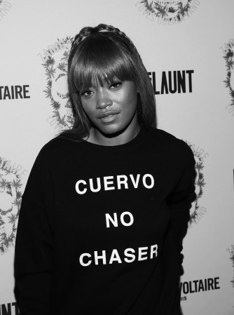 LOS ANGELES, CA - OCTOBER 27: Keke Palmer attend the Zadig & Voltaire and Flaunt Celebration of The FW16 Collection and The Oh La La Land Issue: Ouest Coast at Zadig & Voltaire on October 27, 2016 in Los Angeles, California. (Photo by Jesse Grant/Getty Images for Flaunt Magazine)