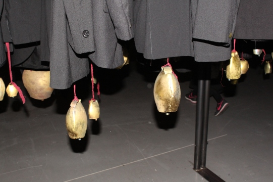 "Antonio Marras exhibition titled ""Nulla dies sine linea"" photo ©Paloma Montanaro"