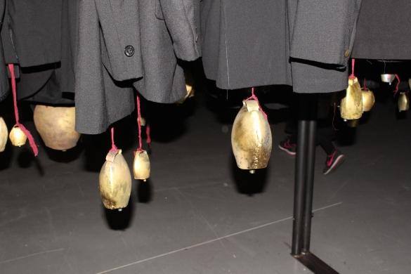 "Antonio Marras exhibition titled ""Nulla dies sine linea"" photo ©Paloma Montanaro"