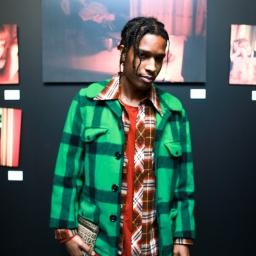 Rapper A$AP Rocky at the Milk X Luka Sabbat HOT ME$$ Art Opening ©Noel McGrath/BFA.com