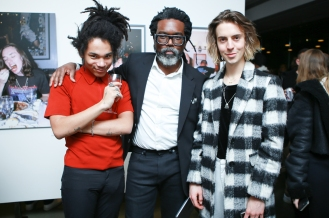 Luka Sabbat, Clark Sabbat & Noah Dillon at the Milk X Luka Sabbat HOT ME$$ Art Opening ©Noel McGrath/BFA.com
