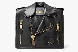 Moschino Biker Bag Cabinet, Moschino Kisses Gufram capsule collection ©Moschino