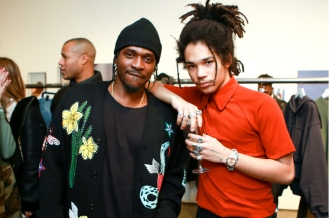 Pusha T and Luka Sabbat at the Milk X Luka Sabbat HOT ME$$ Art Opening ©Noel McGrath/BFA.com