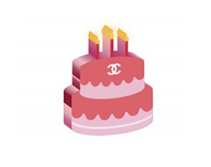 """Let them eat cake"" Not just for birthday wishes, this is the perfect Shade emoji."