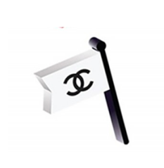Protest is best represented with this flag emoji.