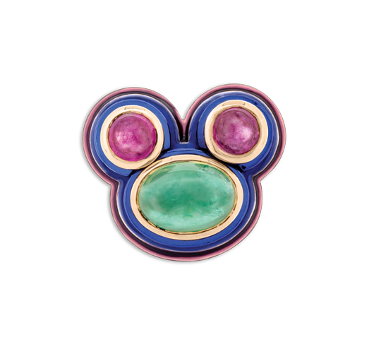 "The ""Mickey"" ring 