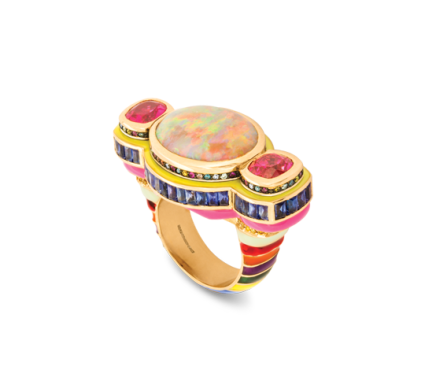 The Temple ring | ©Solange courtesy photo
