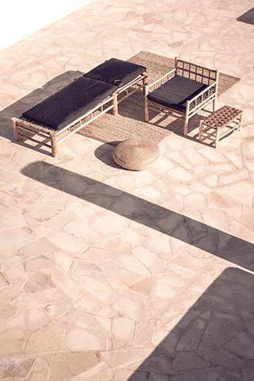 Exterior sun lounge | photo courtesy ©La Granja