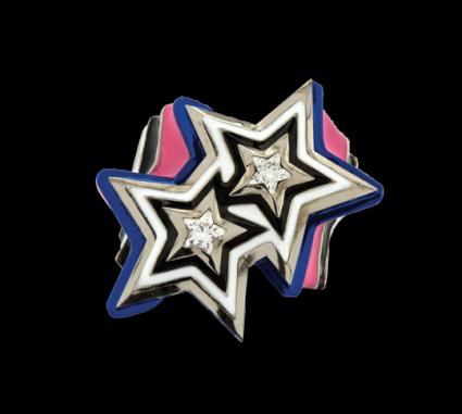Bi-Star ring | ©Solange courtesy photo