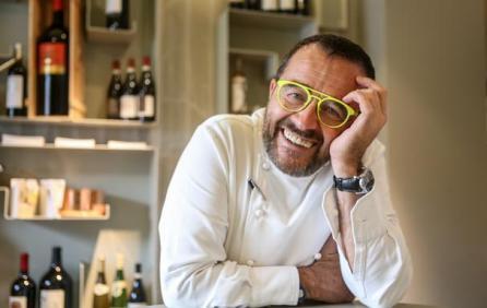 Michelin winning chef Giancarlo Morelli for Hotel Viu Milano