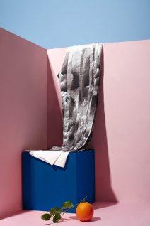 Salvatore Ferragamo collection with orange fiber fabric