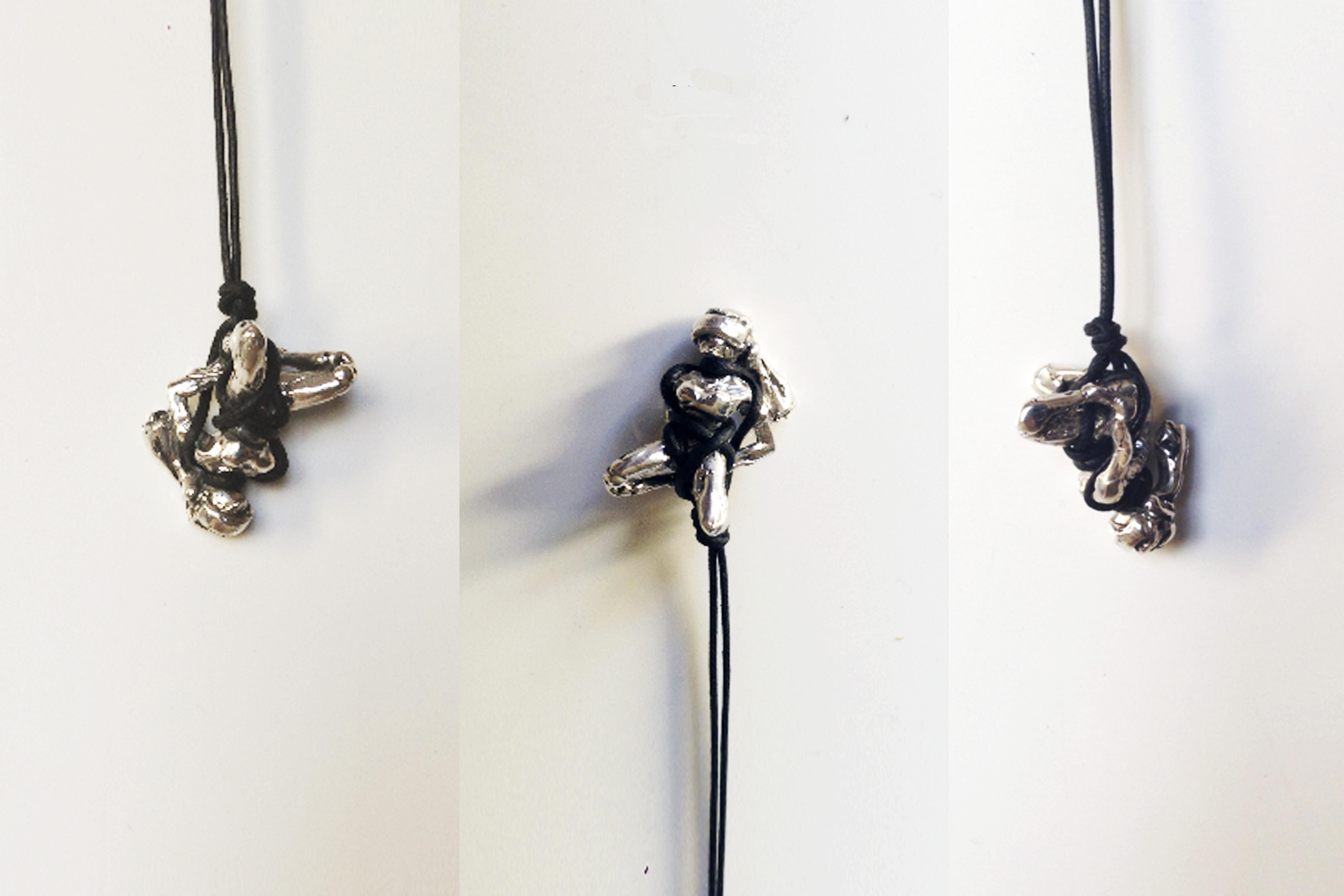 Vanesi BDSM necklace #2 in silver