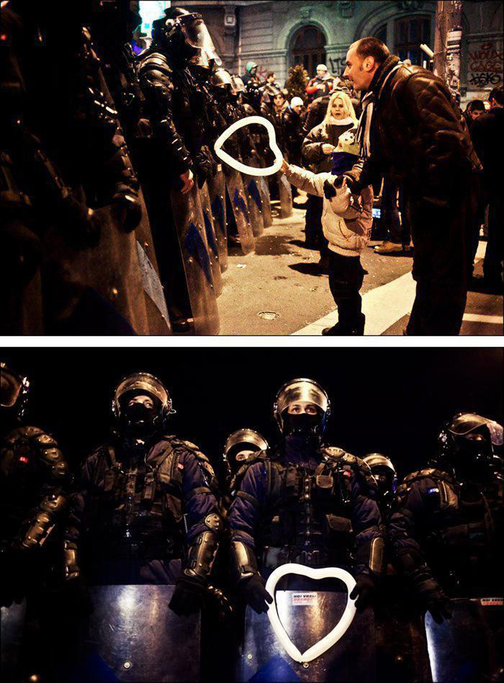 a-romanian-child-hands-a-heart-shaped-balloon-to-riot-police-during-protests-against-austerity-measures-in-bucharest (1)