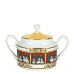 "Sugar bowl, Fornasetti ""Don Giovanni"" collection"