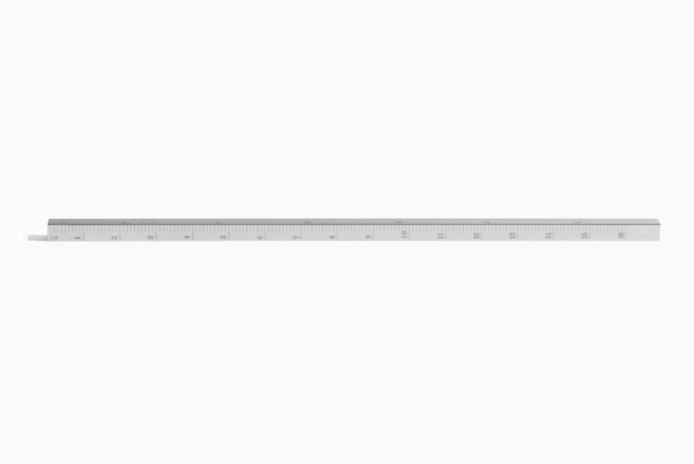 THE RULER by Le Gramme in Polished Sterling Silver