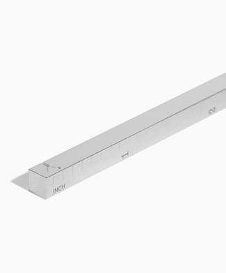 THE RULER by Le Gramme in Polished Sterling Silver | 43 GRAMS